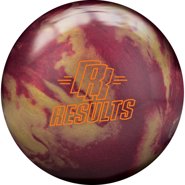 Radical Results Bowling Ball Front View