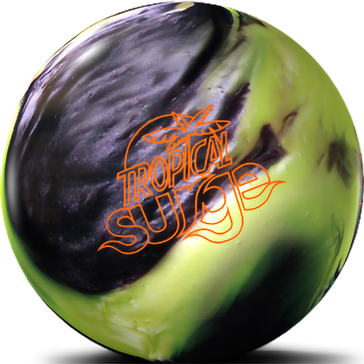 Tropical Surge Bowling Ball Black Cherry Front  View