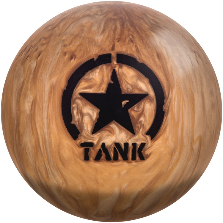 Motiv Desert Tank Bowling Ball Front View
