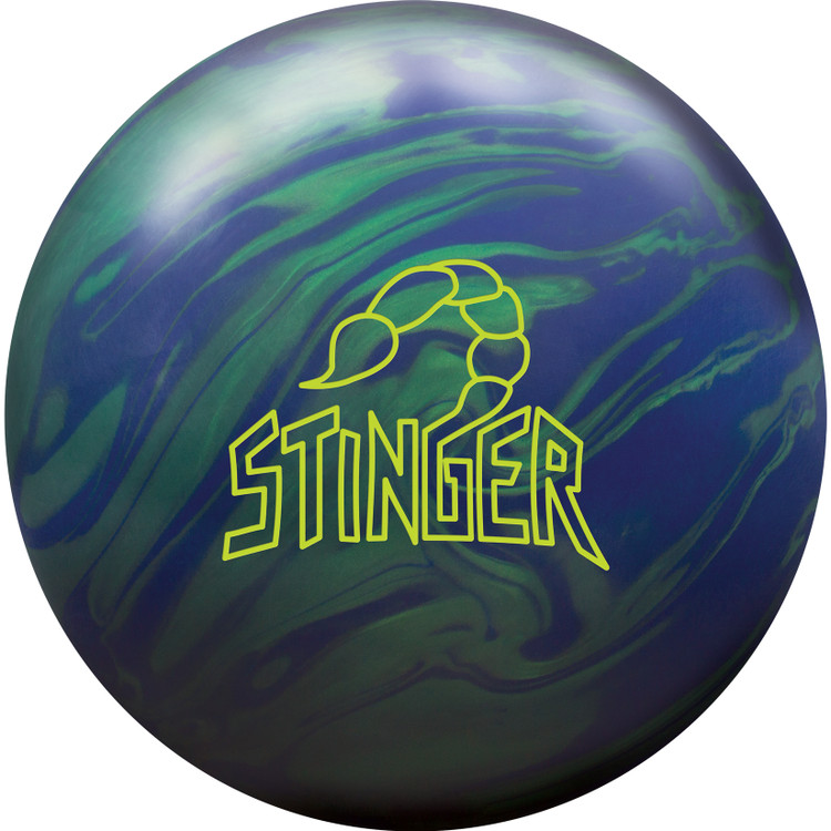 Ebonite Stinger Solid Bowling Ball Front View