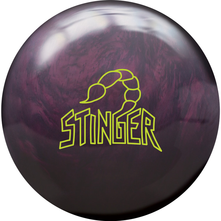 Ebonite Stinger Pearl Bowling Ball Front View