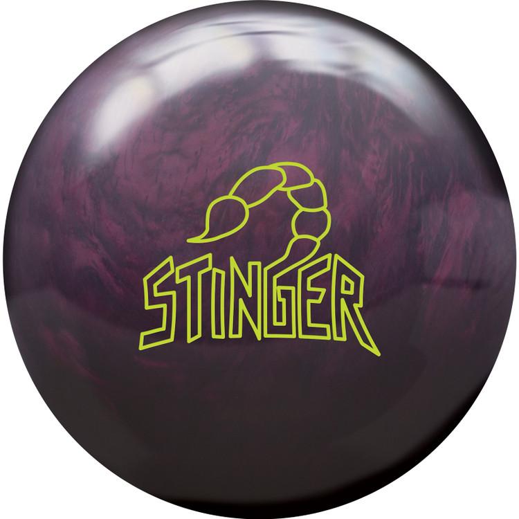 Ebonite Stinger Pearl Bowling Ball Front View