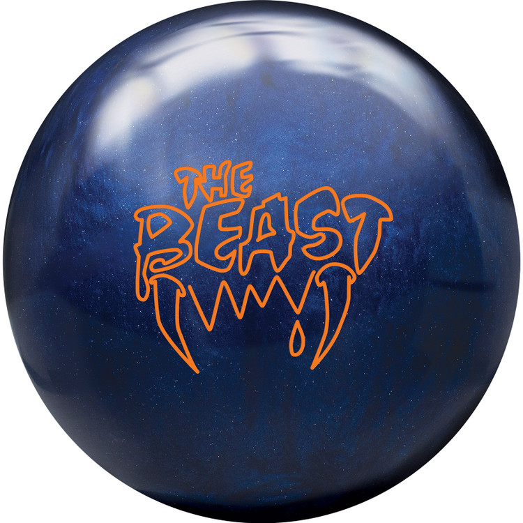 Columbia 300 Beast Bowling Ball Blue Pearl Front View