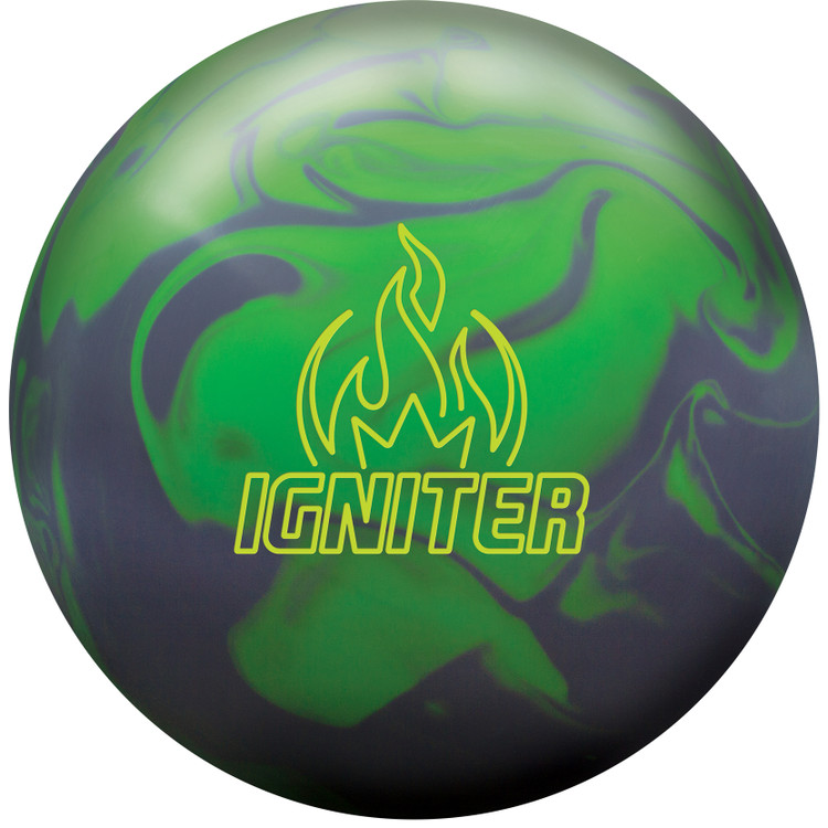 Brunswick Igniter Solid Bowling Ball Front View