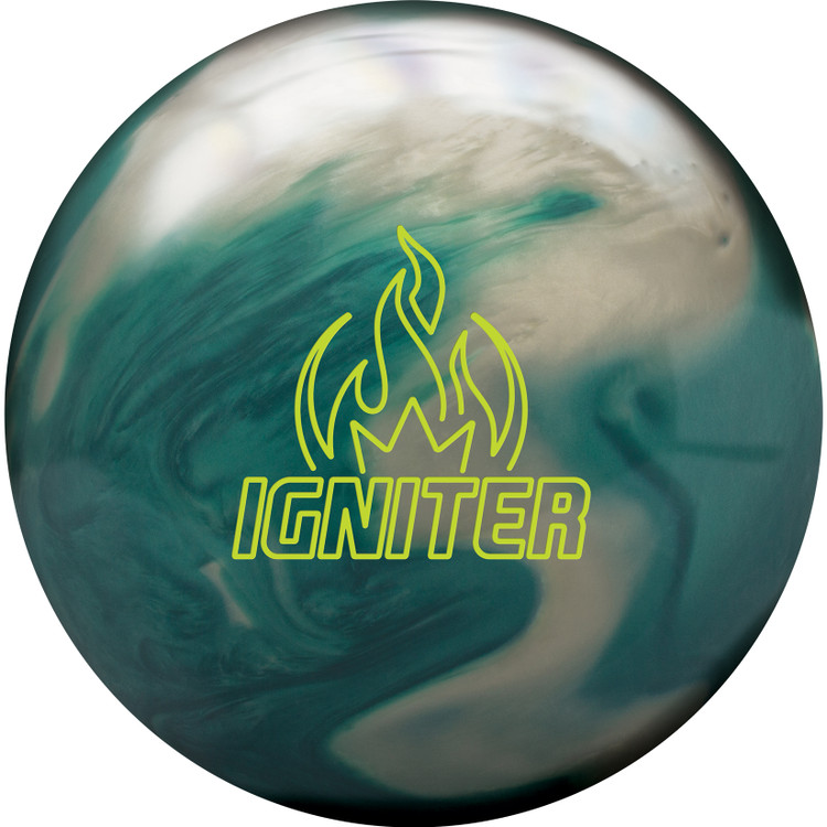 Brunswick Igniter Pearl Bowling Ball Front View