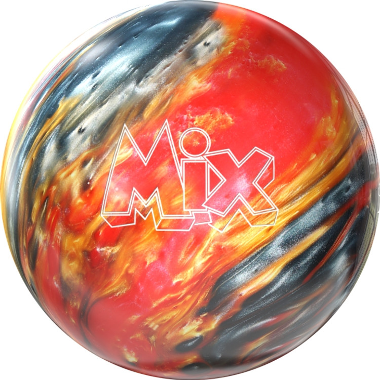 Storm Mix Bowling ball front view