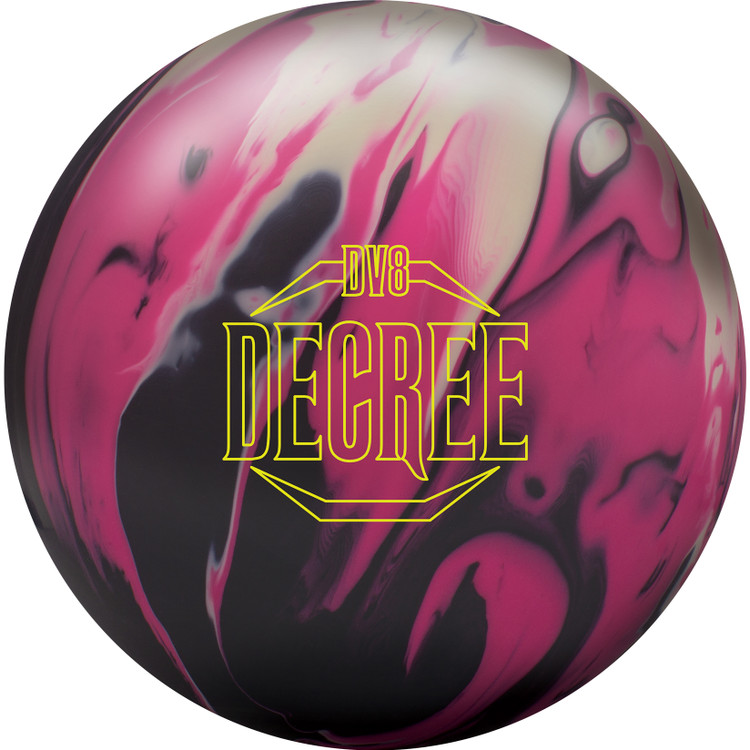 DV8 Decree Bowling Ball Front View