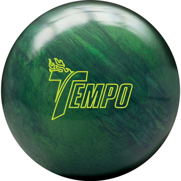 Track Tempo Bowling Ball Front View
