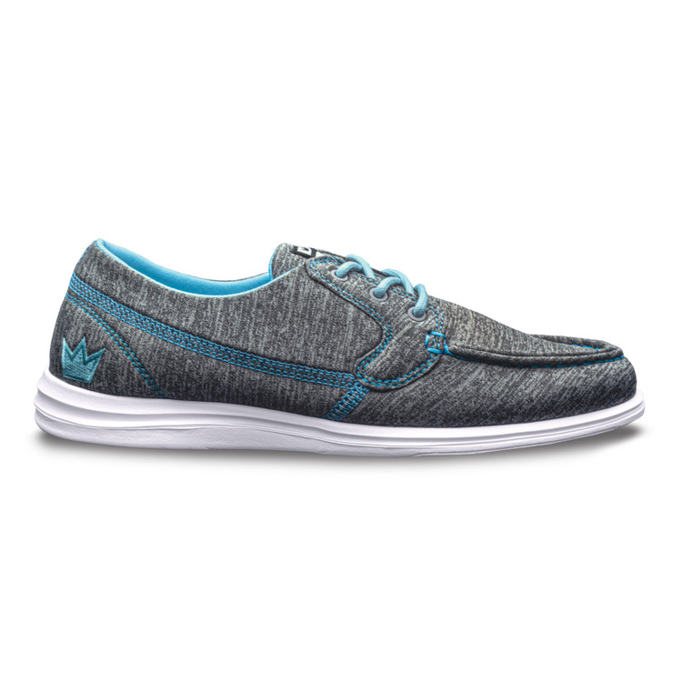 Brunswick Karma Women's Bowling Shoes Grey Blue
