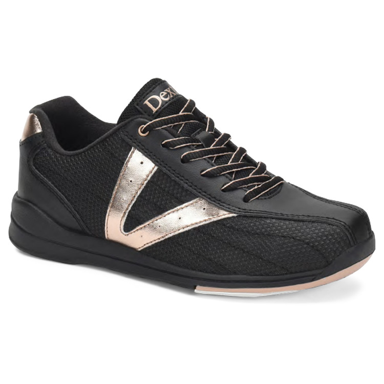 Dexter Vicky Women's Bowling Shoes Black Rose Gold