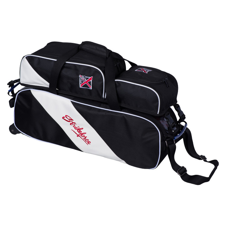 KR Strikeforce Fast Slim Triple Bowling Bag  with Shoe Pocket