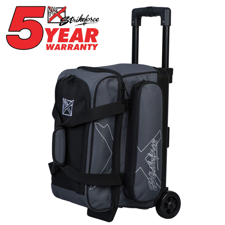 KR Hybrid X 2 Ball Roller Bowling Bag Charcoal