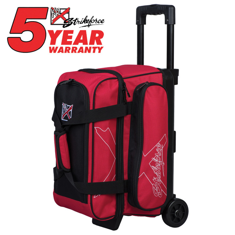 KR Hybrid X 2 Ball Roller Bowling Bag Red