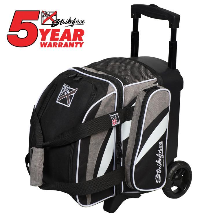 KR Cruiser 1 Ball Single Roller Bowling Bag Stone