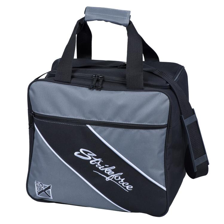 KR Fast 1 Ball Single Tote Bowling Bag Charcoal