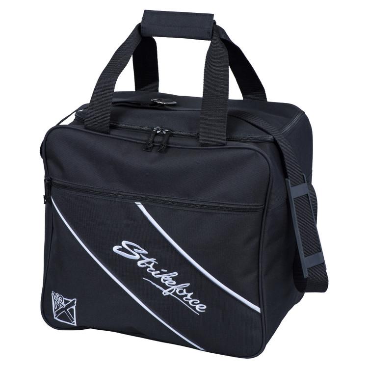 KR Fast 1 Ball Single Tote Bowling Bag Black