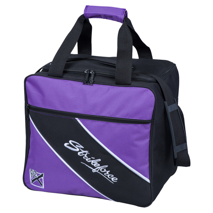 KR Fast 1 Ball Single Tote Bowling Bag Purple
