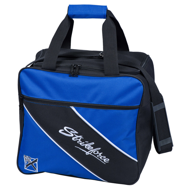 KR Fast 1 Ball Single Tote Bowling Bag Royal