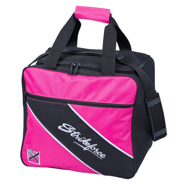 KR Fast 1 Ball Single Tote Bowling Bag Pink