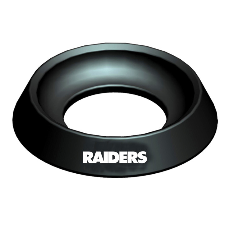 KR NFL Bowling Ball Cup Raiders