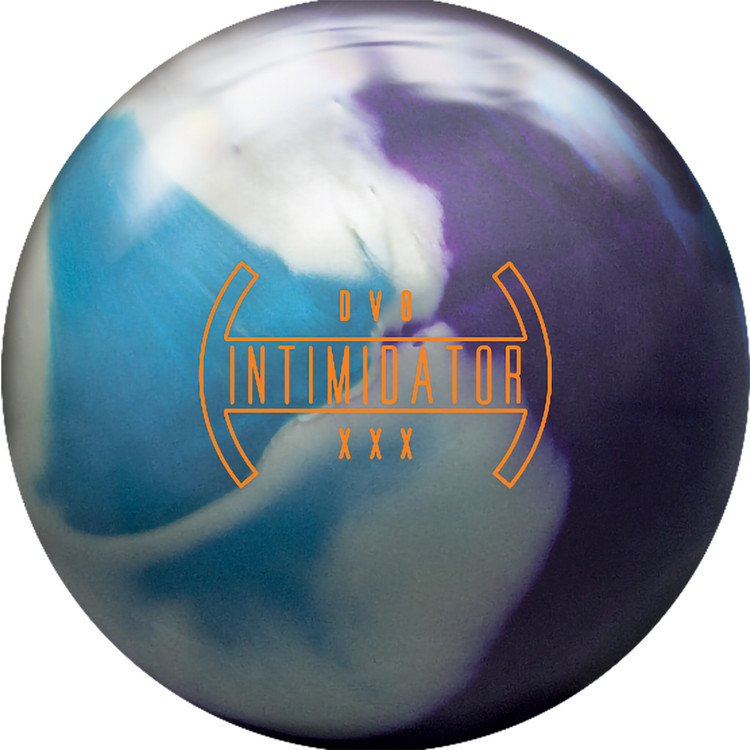 DV8 Intimidator Pearl Bowling Ball Front View