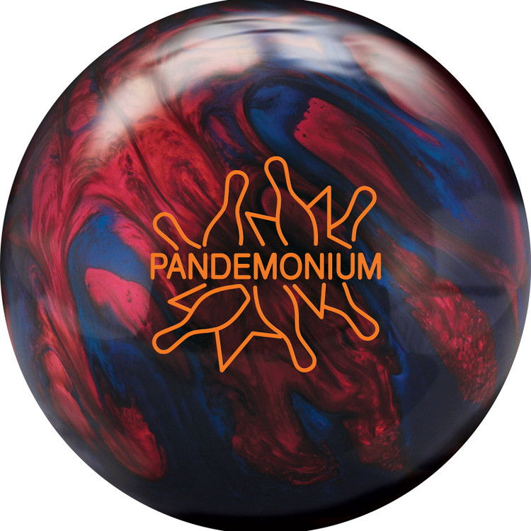 Radical Pandemonium Bowling Ball Front  View
