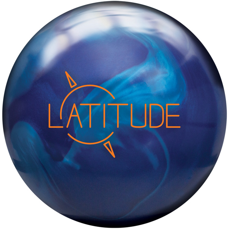 Track Latitude Pearl Bowling Ball Front View