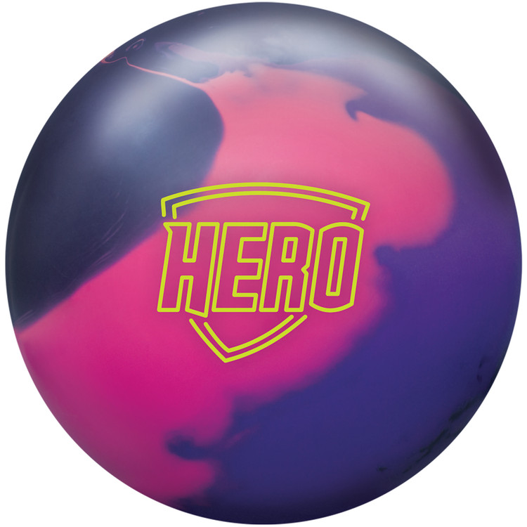 Brunswick Hero Solid Bowling Ball Front View