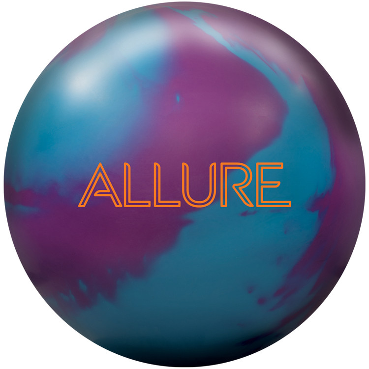 Ebonite Allure Solid Bowling Ball Front View