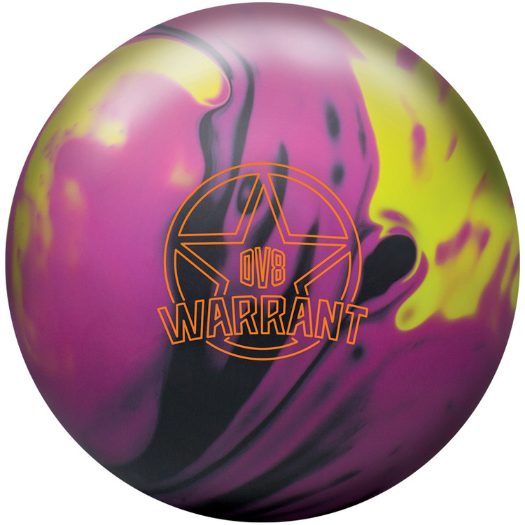 DV8 Warrant Solid Bowling Ball Front View
