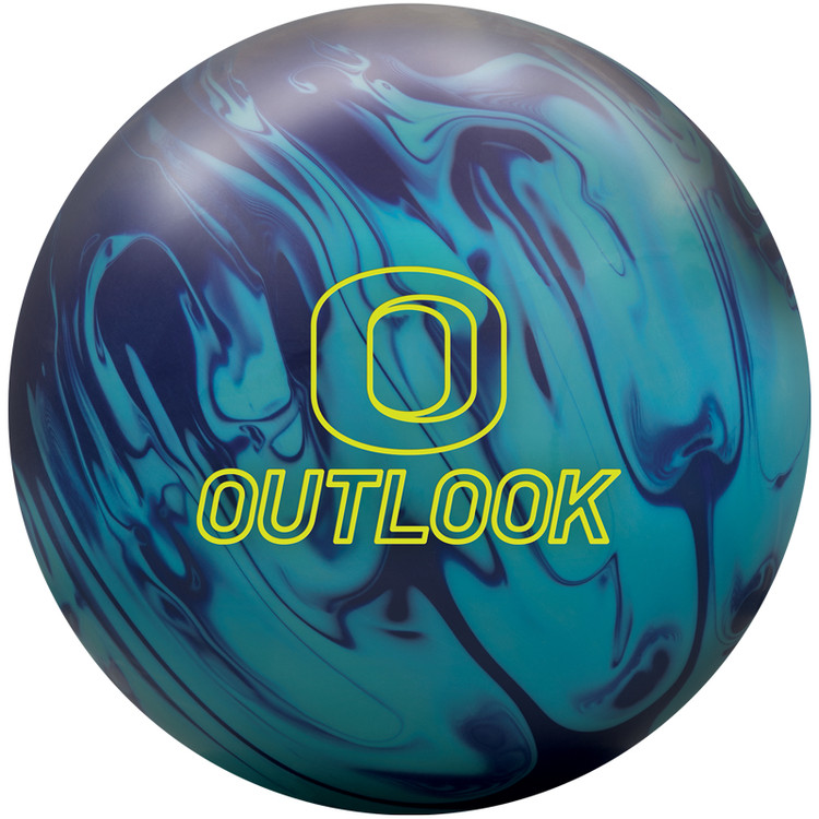 Columbia 300 Outlook Solid Bowling Ball Front View