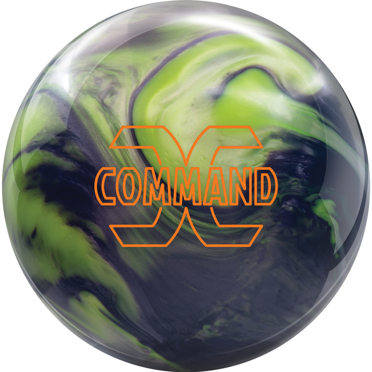 Columbia 300 Command Bowling Ball Front View