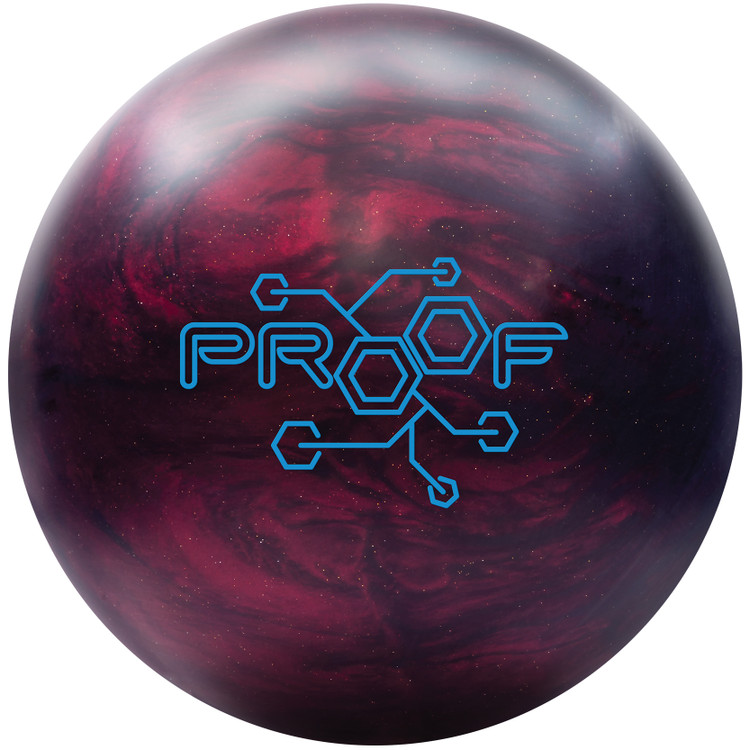 Track Proof Hybrid Bowling Ball Front View