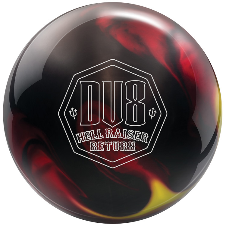 DV8 Hell Raiser Return Bowling Ball Front View