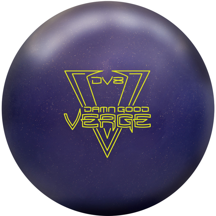 DV8 Damn Good Verge Bowling Ball Front View