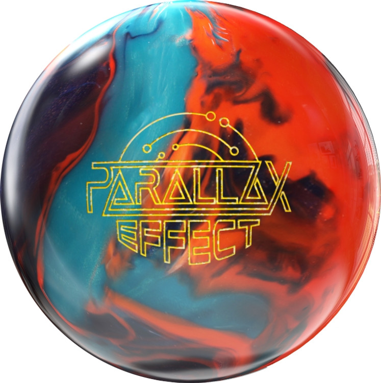 Storm Parallax Effect Bowling Ball Front View