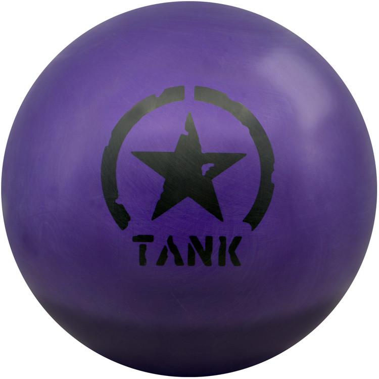 Motiv Purple Tank Bowling Ball Front View