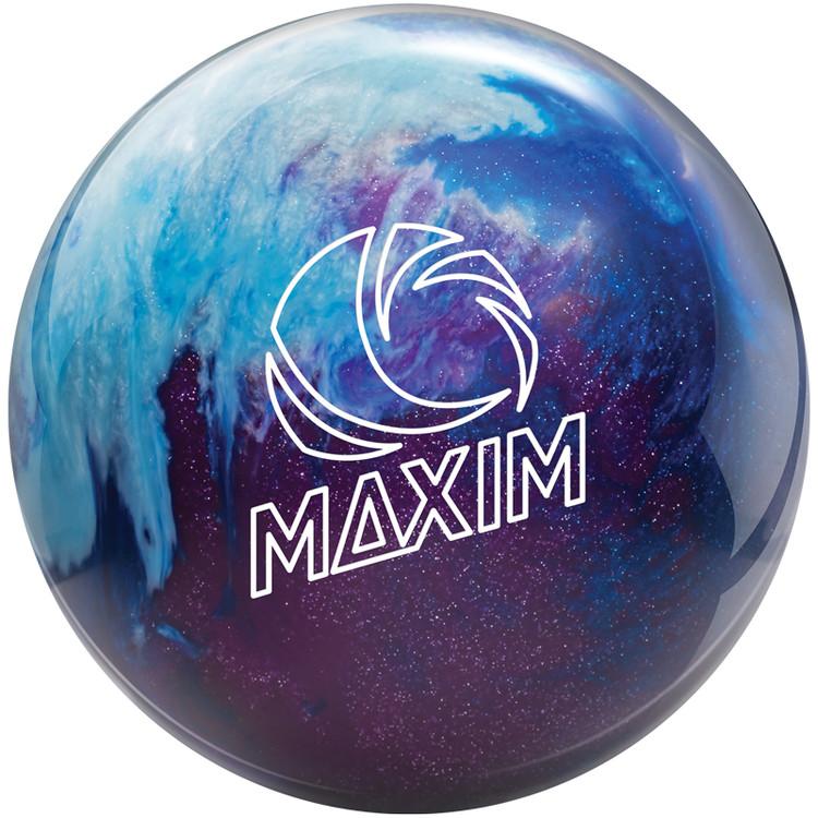 Ebonite Maxim Bowling Ball Peek-A-Boo Berry Front View