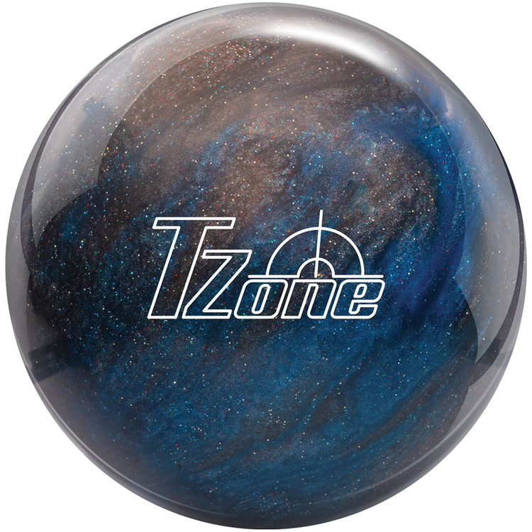 Brunswick TZone Bowling Ball Galactic Sparkle Front View