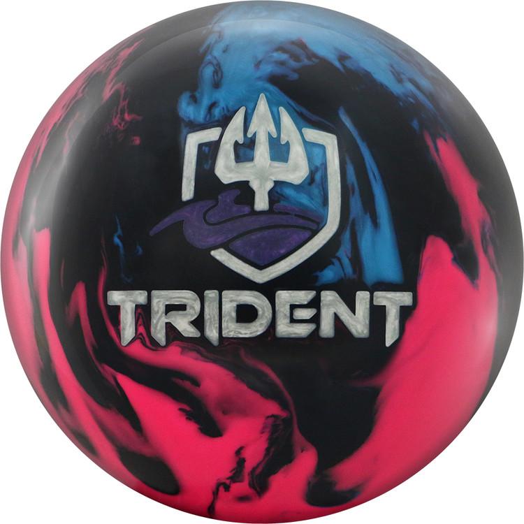 Motiv Trident Horizon Bowling Ball Front View