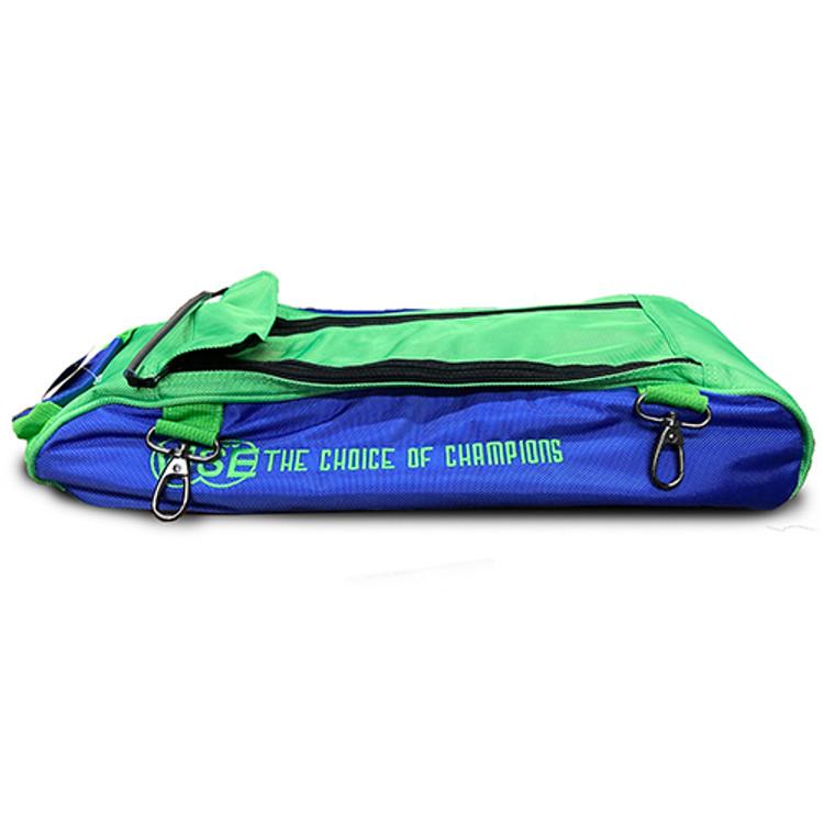Vise 3 Ball Clear Top Roller Shoe Bag Grape Green