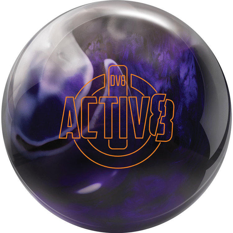 DV8 Activ8 Bowling Ball Front View