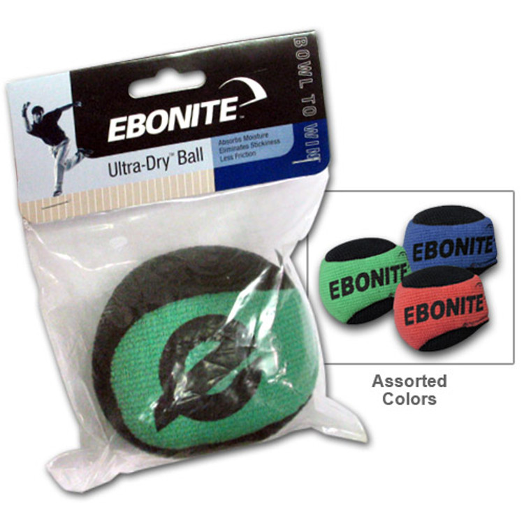 Ebonite Microfiber Ultra Dry Grip Ball