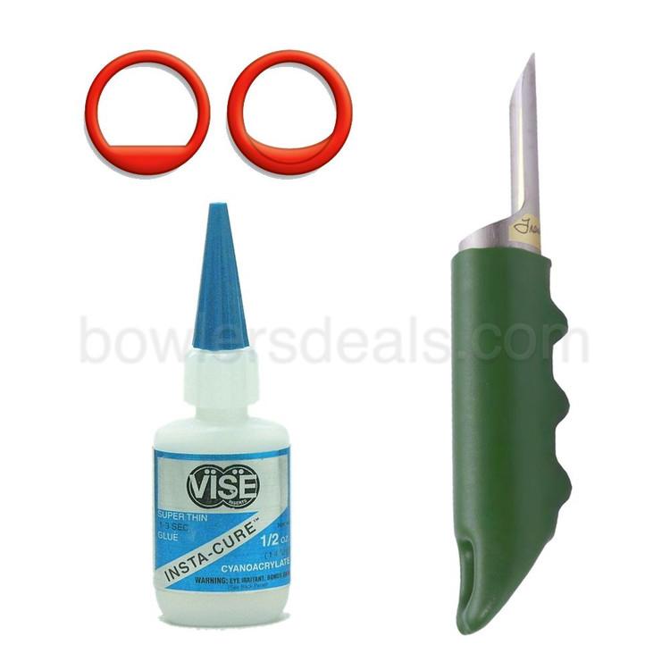 Vise Power Lift-Semi Finger Insert Combo Pack P/S (20 inserts)