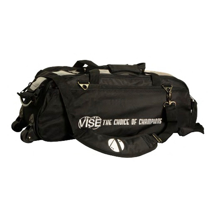 Vise 3 Ball Clear Top Tote Roller