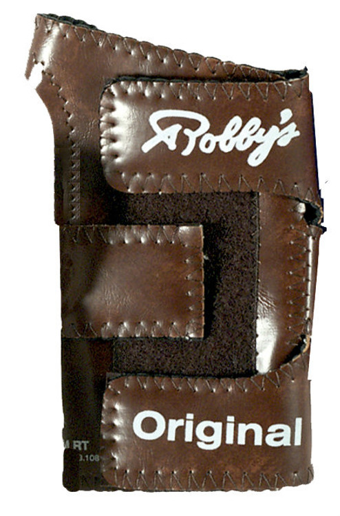 Robby's Original Vinyl Wrist Positioner Right Hand Brown
