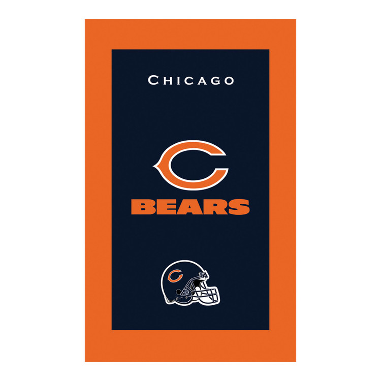 KR NFL Bowling Towel Chicago Bears