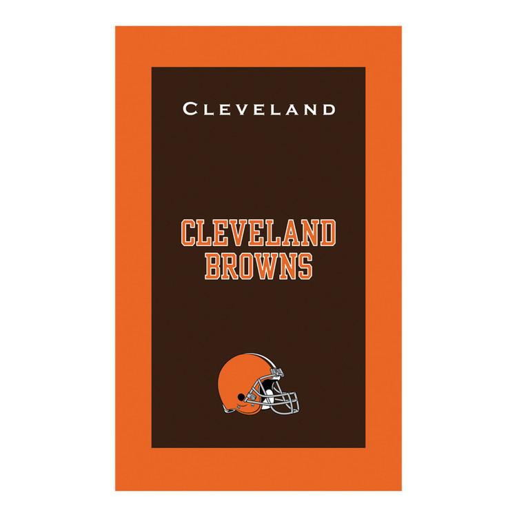KR NFL Bowling Towel Cleveland Browns
