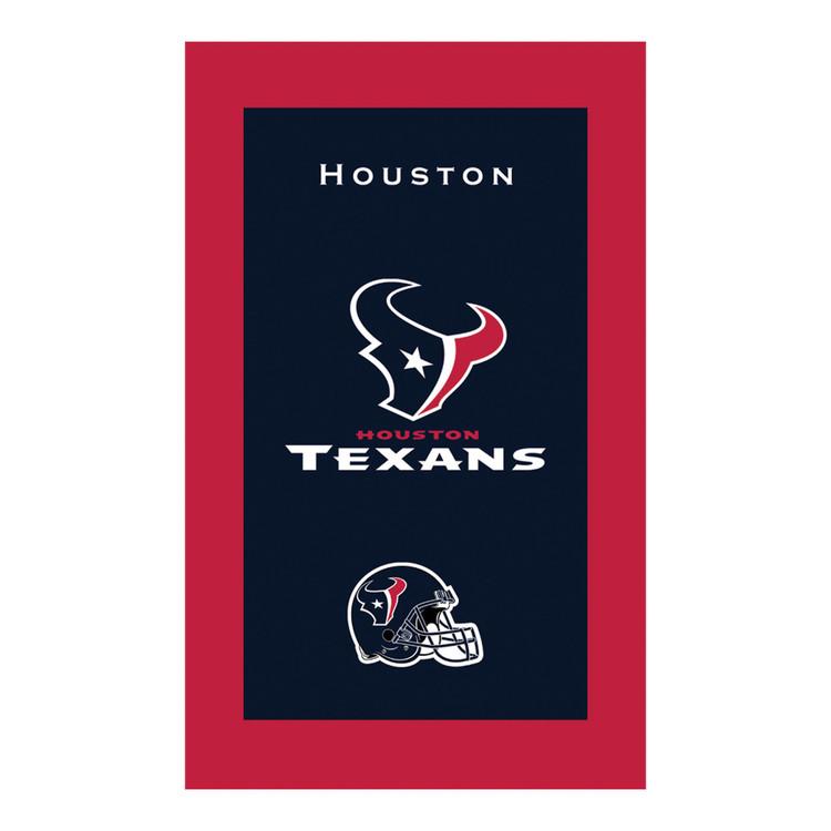 KR NFL Bowling Towel Houston Texans