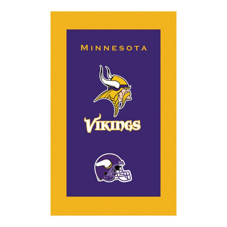 KR NFL Bowling Towel Minnesota Vikings